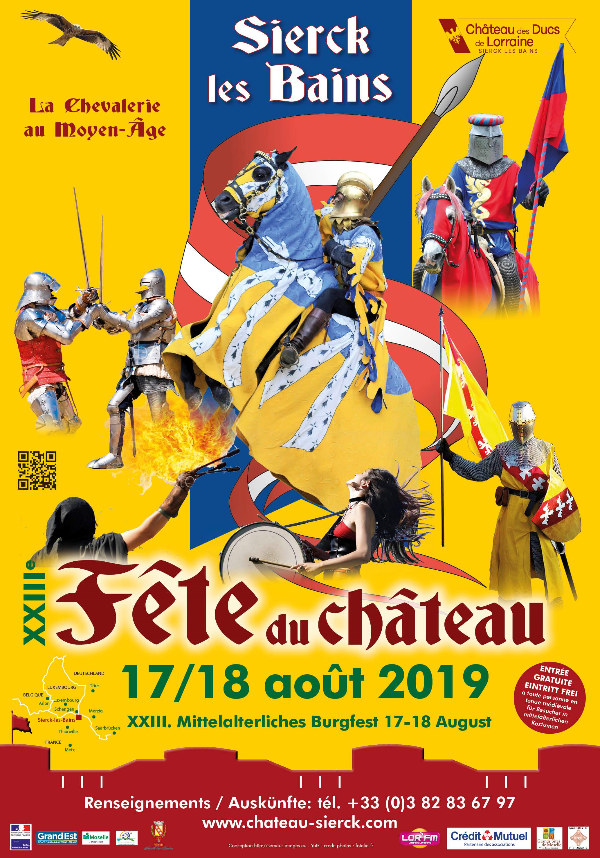 Calendrier Fete Medievale.Fete Du Chateau Chateau Des Ducs De Lorraine